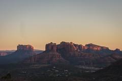 Awesome (GlobalGoebel) Tags: road sunset red arizona canon airport rocks view dusk sedona az powershot pointandshoot s95