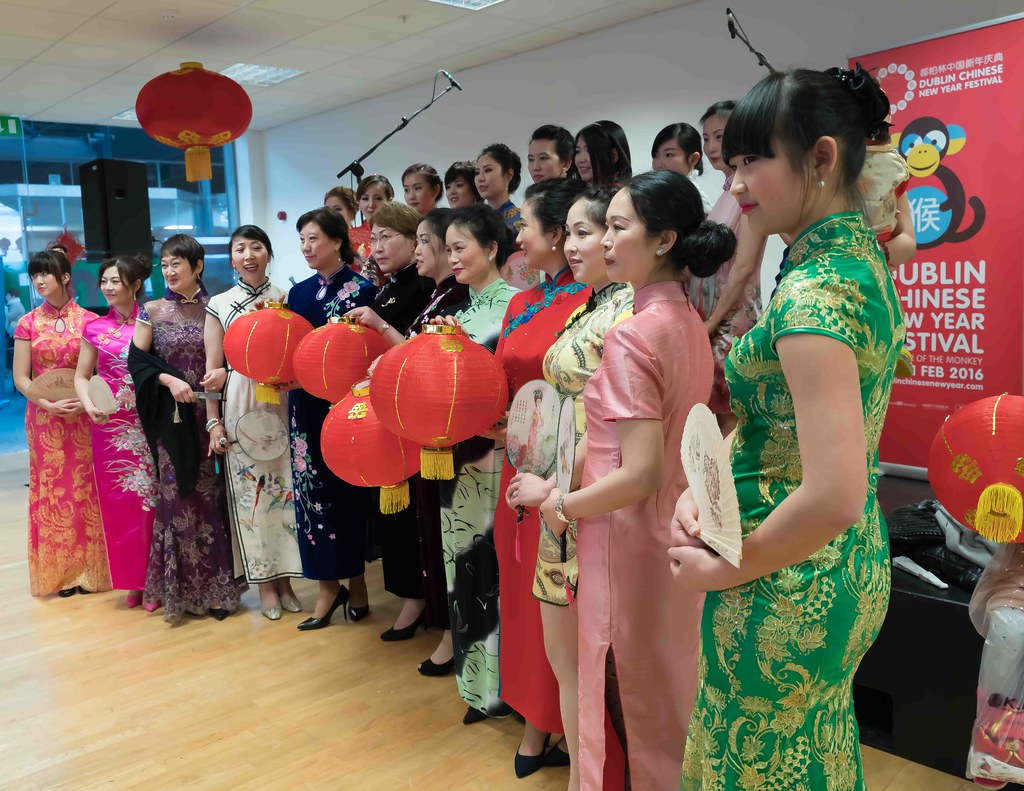 CHINESE COMMUNITY IN DUBLIN CELEBRATING THE LUNAR NEW YEAR 2016 [YEAR OF THE MONKEY]-111590