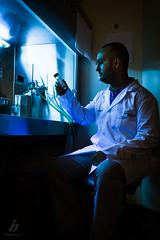 The Scientist (ileset) Tags: portrait people laboratory lowkey scientist dogwood52 dogwoochallenge