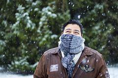Lluvia seca (Andrs Brito) Tags: schnee winter snow bokeh