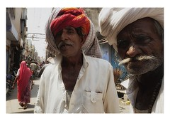 meet on the street (handheld-films) Tags: street people india male men rural portraits town faces candid indian portraiture closeups rajasthan