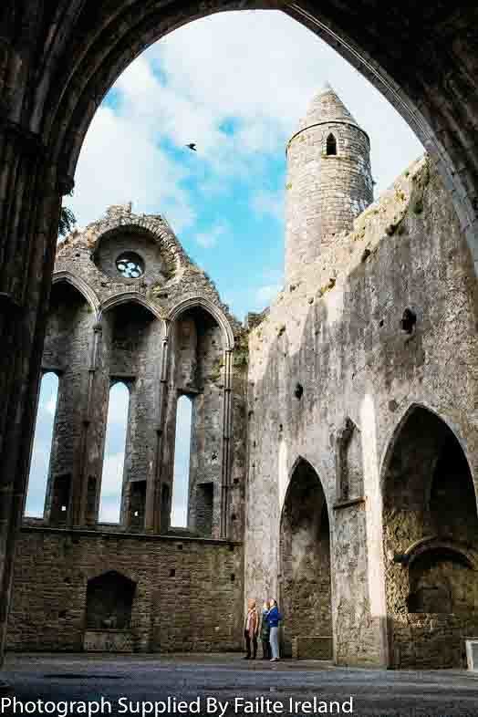 Cashel, County Tipperary - Rock of Cashel interior