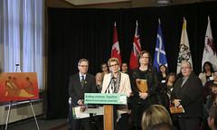 IMG_0865  Premier Kathleen Wynne made an announcement of funding on the Ending Violence Against Indigenous Women Strategy. (Ontario Liberal Caucus) Tags: zimmer aboriginal indigenous meilleur violenceagainstwomen indigenouswomen jaczek maccharles svhap