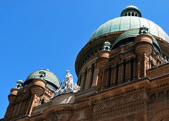 Aus133 - Queen Victoria Building, Sydney (Donna's View) Tags: nikon sydney australia dome queenvictoriabuilding d60