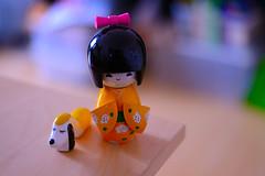 Hinamatsuri!*** (::smyii::) Tags: dog japanese wooden doll kokeshi hinamatsuri