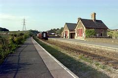Bitton station (1), 1978 (Blue-pelican-railway) Tags: film station bristol closed railway gloucestershire bitton beeching