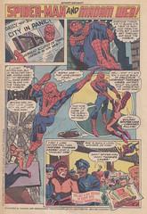 Spider-Man / Madam Web (micky the pixel) Tags: cake comics comic spiderman advertisement marvel reklame anzeige heft hostesstwinkies madamweb