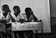 IN CLASS. Ipakodo, Ikorodu, 2015. (cadi.cliff) Tags: africa travel girls portrait blackandwhite bw west education women faces state classroom photojournalism lagos study nigeria activism socialchange portraitphotography ikorodu youthdrivenchange