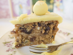 Simnel cake (slice) (James E. Petts) Tags: food cake easter dessert baking marzipan decorated simnelcake