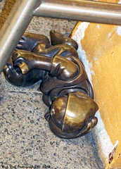 """Life Underground"" (Rick & Bart) Tags: city nyc urban sculpture usa newyork bronze canon underground subway manhattan publicart tomotterness lifeunderground rickbart rickvink eos70d 14thstreeteighthavenue theimpossibilityofunderstandinglifeinnewyork"