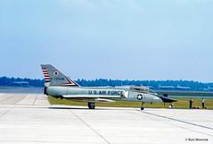USAF, Convair F-106B Delta Dart (Ron Monroe) Tags: usaf interceptor convair unitedstatesairforce f106 deltadart tyndalafb 072546 williamtell1972