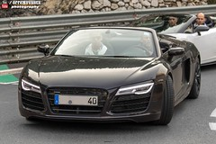 Audi R8 V10 Spyder (effeNovanta - YOUTUBE) Tags: cars car canon eos video montecarlo monaco audi supercar supercars r8 youtube audir8 topmarques topmarquesmontecarlo canon1100d monacotopmarques