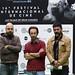 Ganadores de la pasada edición hacen entrega de premios Canarias Cinema al representante de Evolution