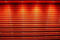 Illuminator - 56 (L D Middleton) Tags: orange colour reflection lines shop walking four lights fuji shine bright walk vivid shutter roller fujifilm illuminator audenshaw tclx100 x100t ldmiddleton