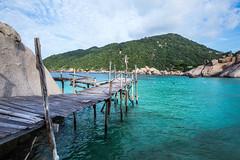 IMG_9096_edited-1 (Lauren :o)) Tags: ocean blue sea beach water thailand island paradise dive diving kohtao turtleisland nangyuan desertisland diveresort nangyuanisland