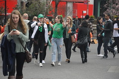St Patrick's Day at Union Square (zaxouzo) Tags: nyc people irish green public fashion unionsquare stpatricksday 2016