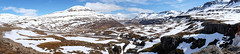 Drive down to Seydisfjordur (susanbrzozowski) Tags: road panorama mountain snow is iceland twist east valley winding descend