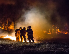 DD HWY-Field Fire-17 (Mather-Photo) Tags: winter night fire lowlight wind smoke flames burning burn damage emergency firefighters charred 2014 firstresponders fieldfire emergencypersonnel andrewmather matherphoto andrewmatherphotography