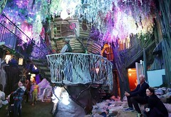 Meow Wolf House Of Eternal Return (JoelDeluxe) Tags: newmexico santafe art kids lights wolf artistic exhibit exhibition funhouse meow nm joeldeluxe adults playful arthouse artcomplex mw treehouses meowwolf houseofeternalreturn meowwolfcom 1352rufinacircle 5057804458