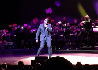 John Secada performed, with Shelly Berg conducting, during the Arsht centers 10 year anniversary concert.