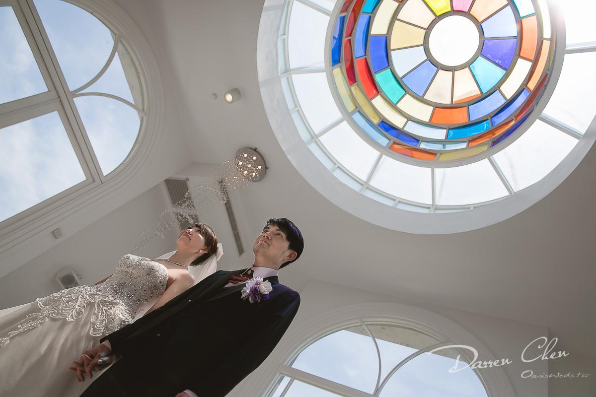 宜蘭香格里拉-永恆水教堂,證婚,宴客,婚攝Darren,幸福綠洲