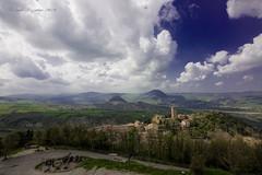 S. Leo IV (Guido Pezzatini) Tags: city travel italy green clouds landscape nuvole blu hill paesaggio collina paese