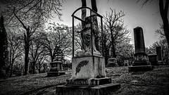 Woodlawn Cemetery Detroit, MI (Crunch53) Tags: cemeteries cemetery graveyard mi michigan detroit hdr woodlawn