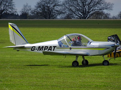 G-MPAT Cosmik Aviation EV-97 TeamEurostar UK cn 3919 Sywell 23Apr16 (kerrydavidtaylor) Tags: ev97 aerotechnik