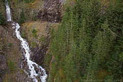 John Pierce Falls (mcmillend) Tags: waterfall roadside northcascades rosslakenationalrecreationarea northcascadesnationalparkcomplex april2016 johnpiercefalls