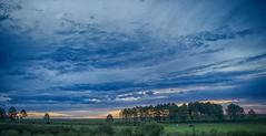 Here comes the sun? (gervasio.gallegos) Tags: blue sky storm verde green atardecer country cielo tormenta campo