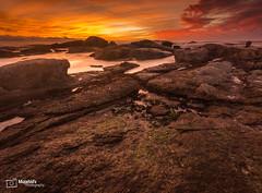 Quiet After The Sunset - Camps Bay Beach, Cape Town (Mujahid's Photography) Tags: sea sky seascape beach clouds landscape campsbay autmn westerncape 2016 southafirca nikond800 mujahidurrehman mujahidsphotography wwwmujahidurrehmancom