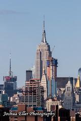 Empire State Building (Joshua Eller) Tags: newyorkcity skyline cityscape brooklynbridge empirestatebuilding manhatten skyscrapper