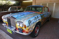 Rolls Royce owned and painted by Broken Hill artist Pro Hart... (The Pocket Rocket) Tags: artist gallery australia rollsroyce nsw brokenhill prohart b1928d2006