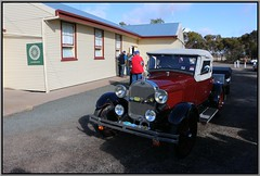 Darwin Bound (florahaggis) Tags: ford canon australia victoria horsham classiccars vintagecars publichall antiquecars carclub pc3400 amodel wimmera dooen wimmeramalleehistoricalvehiclesociety dooenhall