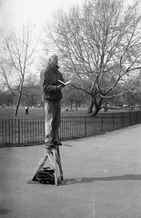 Speaker's Corner (Alistair Napier) Tags: self canon 50mm 1 hp5 developed ilford ae programme
