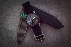 IMG_2004.jpg (ceriksson) Tags: watch knife blade knives tad wristwatch edc folder dauntless zulu strider bicolor airman glycine tadgear tripleaughtdesign base22 000design