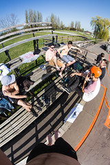 Summer in Spring (Marin Lonar) Tags: friends summer canon spring bmx extreme lifestyle osijek croatia sunny fisheye skatepark skate inline session homies chill sunnyday hrvatska t3i slavonija chills 2016 600d pannonian pannonianchallenge rokinon8mm