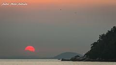 Sol (Sun) (Andr Melo-Andrade) Tags: sunset sea praia mar prdosol paquet baiadeguanabara