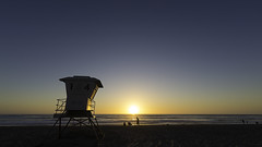 02468957-75-Mission Beach San Diego at Sunset-4 (Jim There's things half in shadow and in light) Tags: california sunset sky sun landscape spring sandiego pacificocean april beachsunset missionbeach lifeguardtower 2016 canon5dmarkiii tamronsp1530mmf28divcusda012