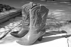 Ecco Rio Boots (Gillian Everett) Tags: brazil southamerica riodejaneiro boots arches footwear 80s ecco week40 61113 7daysofshooting eccowarriors eccoboots blackandwhitewednesday 113picturesin2013 gillianeverett