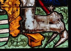 ca. 1475-1485 - 'knight of the von Fleckenstein family' (workshop of Peter Hemmel von Andlau), Strasbourg, glise Saint-Georges, Haguenau, dp. Bas-Rhin, Muse de Cluny, Paris, France (roelipilami) Tags: paris church window glass saint st museum de gothic von hans muse stained strasbourg peter vitrail knight glasmalerei chevalier jakob jacques armour georges cluny alla atelier ritter hemmel andlau 1485 armure rstung haguenau glasraam donor strassburg tedesca harnas 1470 fleckenstein 1514 1475 1480 1483 stifter donateur