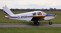 Piper PA-28-140 Cherokee G-ATOR Lee on Solent Airfield 2016 (SupaSmokey) Tags: gator lee solent cherokee piper airfield 2016 pa28140