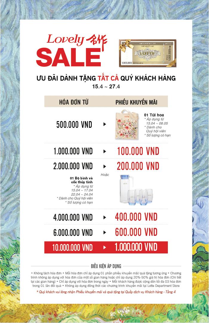 Lovely sale