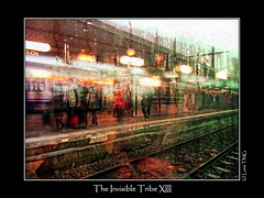 The Invisible Tribe XIII / La Tribu Invisible XIII (Luna TMG) Tags: rain gare ghost pluie communication trainstation autism autisme asperger fnatme