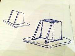 Sketch (john.and.kath) Tags: chevrolet conversion welding engine mount swap impala ls 1965 pedestal fabrication 60l l98 jrd ls2 l76