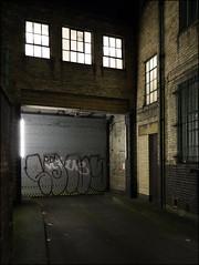 Sony (Alex Ellison) Tags: urban night graffiti boobs sony shutter 29 graff whitechapel eastlondon throwup throwie 29ers