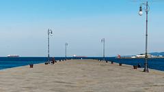 Molo Audace (Abdujaparov) Tags: sea italy europa europe italia mare outdoor molo trieste moloaudace trst veneziagiulia 2016 audace friuliveneziagiulia marmediterraneo maradriatico