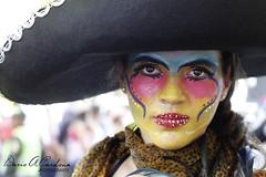 FANTASA (DARIO AUGUSTO CARDONA S2010) Tags: mujer rojo paint amarillo sombrero mexicano rostro pintura