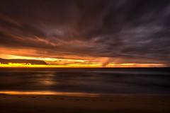 Da 240/365 - Curl Curl (Marcelo www.EyeHaveFun.com) Tags: orange beach sunrise australia newsouthwales curlcurl
