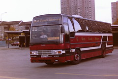 WEST COAST MOTORS G120CEH (bobbyblack51) Tags: west bus ex station coast volvo glasgow iii motors buchanan 1994 paramount paxton b10m60 paramountleisure g120ceh